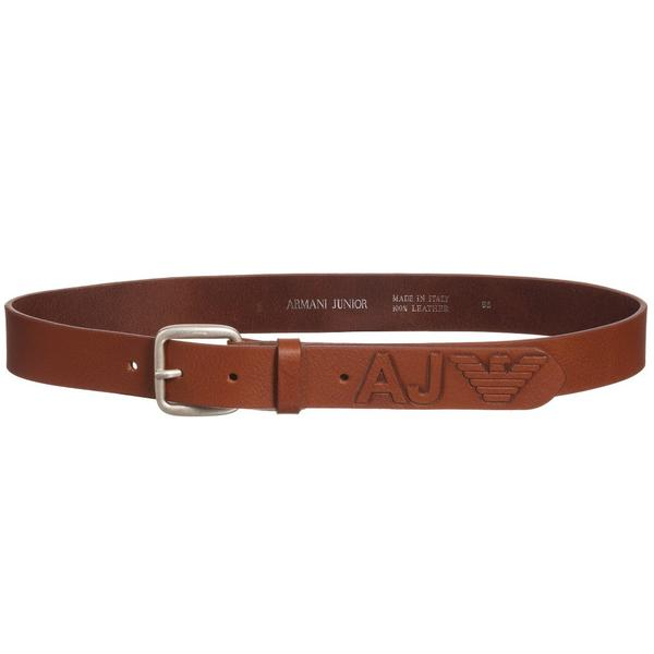 boys_brown_leather_embossed_logo_belt_1_grande