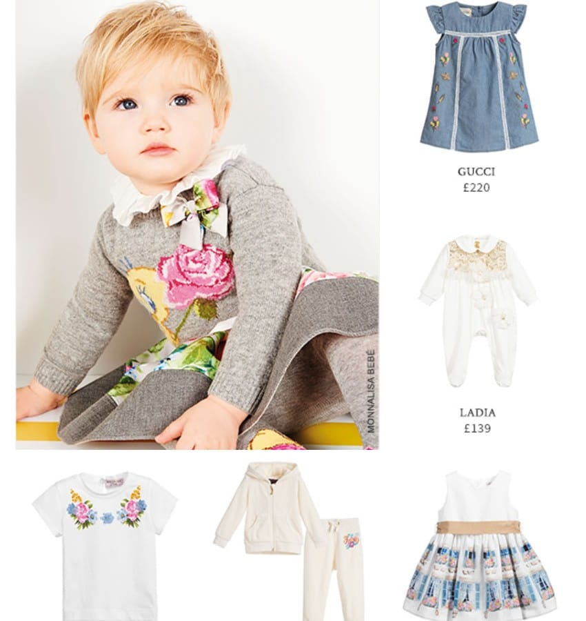 Spring 2018 Baby Girls Designers Clothes