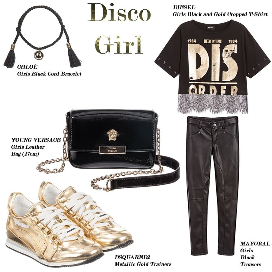 Disco girl clothes set