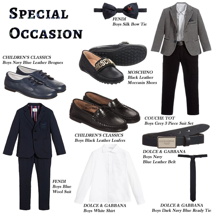 Special Occasion clothing sets for boys - Children Boutique